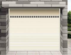 Aluminum roller shutter door