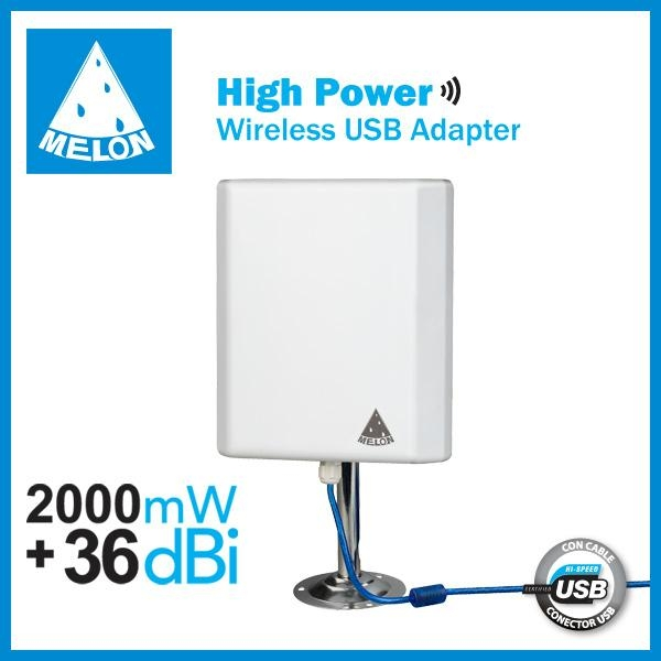 Melon N4000,outdoor high power and long range wifi adapter 1