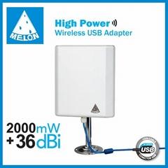 Ralink3070,2.4Ghz 150Mbps,802.11N wireless adapter,2000mW 36dBi