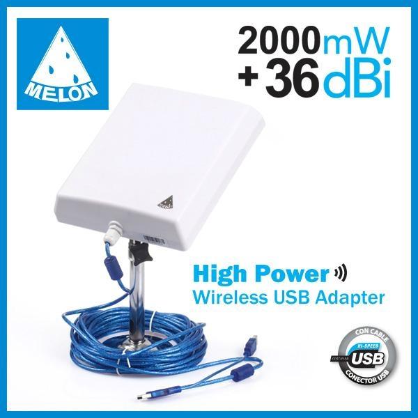 Ralink3070,2.4Ghz 150Mbps,802.11N wireless adapter,2000mW 36dBi 2