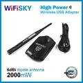 Wifisky2000 realtek 8187L chipset 802.11b/g wlan adapter 2W+6dBi  2