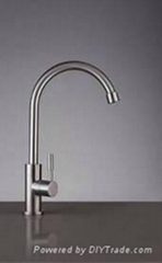 SUS304 Stainless Steel Cold kitchen faucet