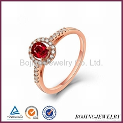 2014 latest design 925 sterl silver jewelry rings and sets