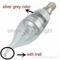 Shenzhen Supplier LED Candle Bulb light 3