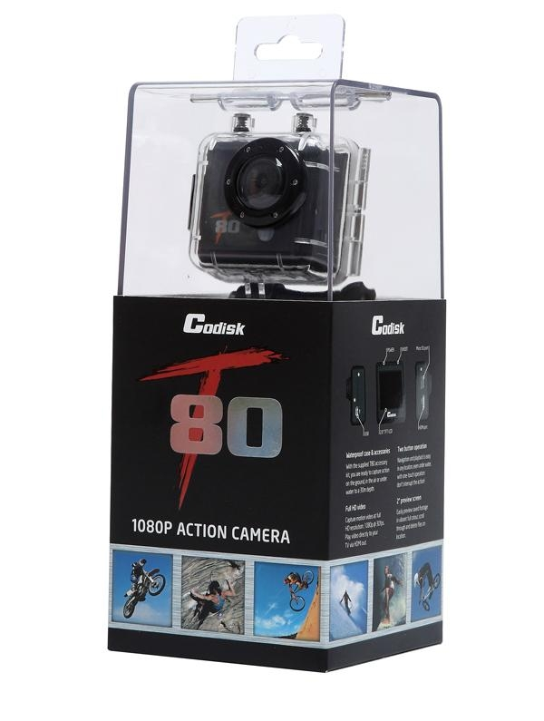 Underwaterproof 30 meters  5MP 30FPS 1080P Sport Action Camera DV 4