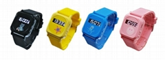 Mini Size Colorful  Watch GPS Trackers for Kids