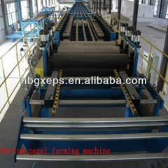 Continuous PU & Rockwool Sandwich Panel Production Line