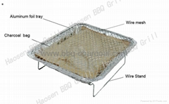 Disposable Outdoor charcoal Grills manufacturers