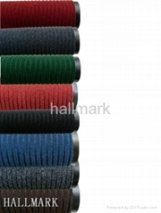 PVC backed polyester door mats