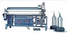 automatic spring assembling machine