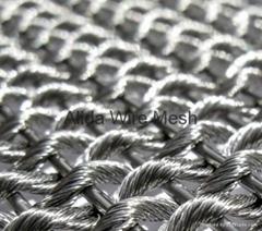 Architectural wire mesh