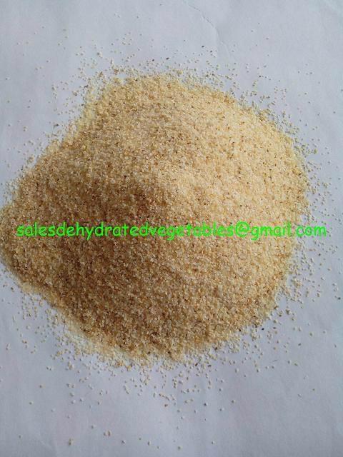 Dehydrated Garlic Granules 1