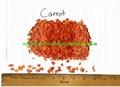 Food Ingredients Carrot Granules