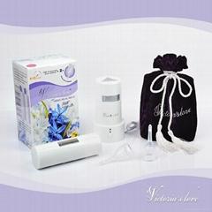 Victoria's love menstrual mate two menstrual cups and one sterilizer