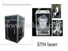 3D Laser Engraving Machine (STNDP- 801AB1)