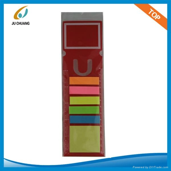 sticky notes with bookmark 1
