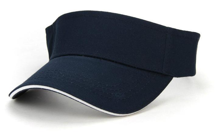 Promotional custom cotton sandwich sun visor caps - V0001 (China ... 1f52ae9d996b