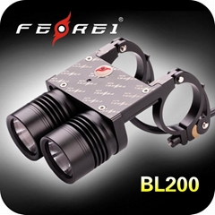 20W CREE LED Bicycle head light 1600 Lumens BL200
