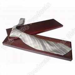 Elegant paperboard tie packing box
