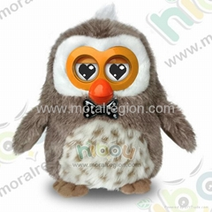 2014 new hot Hibou plush talking toy
