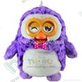 2014 new hot Hibou plush talking toy 3