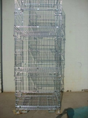 Collapsible Wire Mesh Container (European Type)