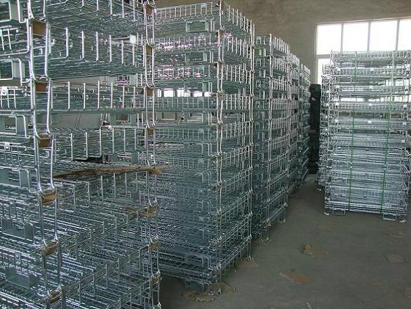 Collapsible Wire Mesh Container (European Type) 3