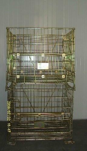 Collapsible Wire Mesh Container (European Type) 4