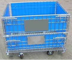 Wire Mesh Container (with castors)