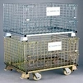 Wire Mesh Container (white and colored zinc-plating) 3