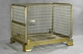 Wire Mesh Container (white and colored zinc-plating) 4