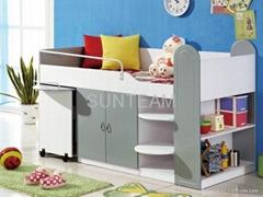 Wooden Bunk Bed PE-5074