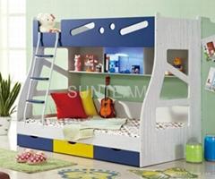 Wooden Bunk Bed PE-5066