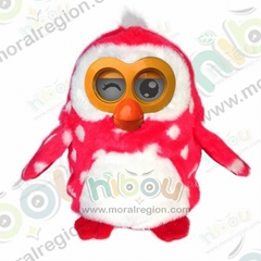 New kids toys for 2014 interactive HIBOU plush toys for kids