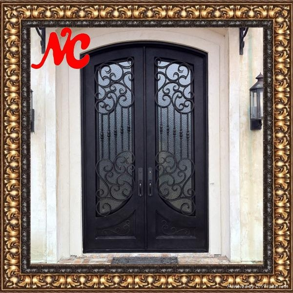 New Design Entrance Iron Door - Product Catalog - China - Natural on