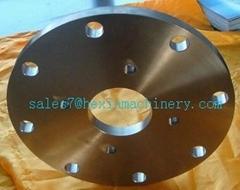 Titanium alloy forging  flange