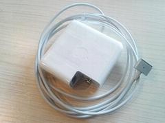 苹果笔记本2012 60W 新款接口 电源适配器 A1435 苹果原装电源