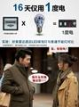 雷達感應光控青花瓷外觀LED球泡燈  5