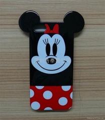 新款iphone4s卡通手机保护套