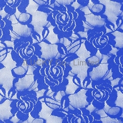 Rigid Nylon Lace Fabric
