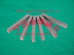 供應高性能耐高溫釤鈷長條形、瓦形磁鋼