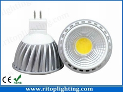 GU10 MR16 COB 5w LED spotlight