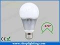 7W Sumsang 5630SMD E27 LED bulb light wide beam angle
