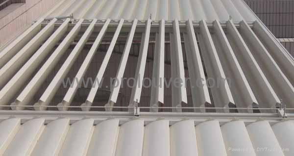 Pergola Aluminum Roof Motorized Operable Louver Waterproof