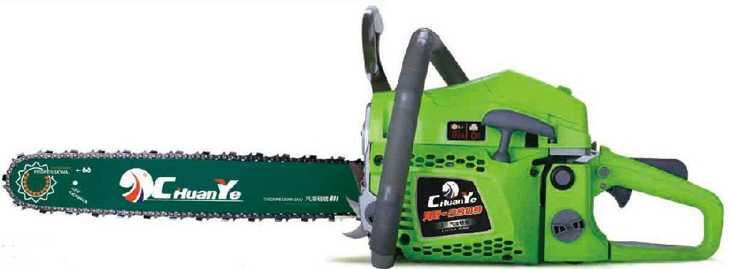 chainsaw with oregon chain 1