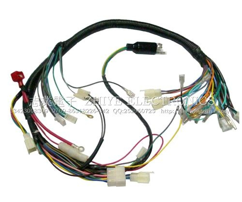 honda motorcycle wiring harness zy mt094 zhiye china. Black Bedroom Furniture Sets. Home Design Ideas