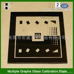 影像投影儀校正玻璃板
