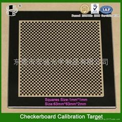 機器視覺相機畸變國際象棋盤標定模板