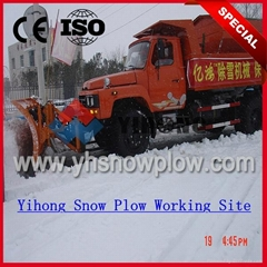 truck snow plows