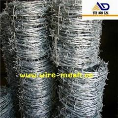 electro galvanized barbed wire
